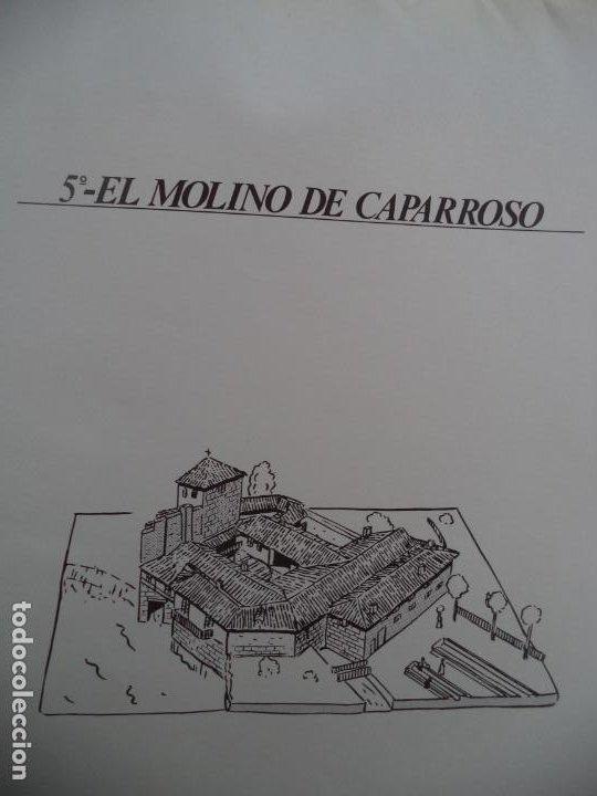 EL MOLINO DE CAPARROSO CAMUNICIPAL PAMPLONA SOBRE +9 LAMINAS DE 43X30 CM (Coleccionismo - Recortables - Construcciones)