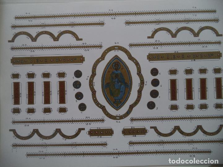 Coleccionismo Recortables: RETABLO DE ARALAR CA MUNICIPAL DE PAMPLONA SOBRE+4 LAMINAS DE 43X30 CM - Foto 3 - 227155800