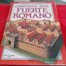 Coleccionismo Recortables: CONSTRUYE ESTE FUERTE ROMANO, DE SUSAETA, ESCALA 1/120. Lote 228277580