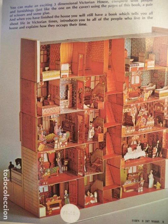 Coleccionismo Recortables: RECORTABLE MAQUETA VICTORIAN HOUSE LIBRETO DE 96 PAGINAS - Foto 2 - 228581815