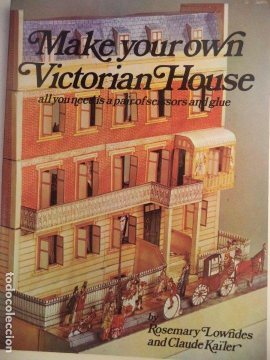 RECORTABLE MAQUETA VICTORIAN HOUSE LIBRETO DE 96 PAGINAS (Coleccionismo - Recortables - Construcciones)