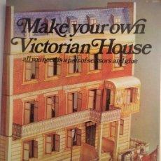 Coleccionismo Recortables: RECORTABLE MAQUETA VICTORIAN HOUSE LIBRETO DE 96 PAGINAS. Lote 228581815