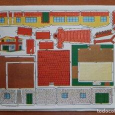 Collectionnisme Images à Découper: ESTAMPA DE ESPAÑA : RECORTABLE CHALET. Lote 228718325