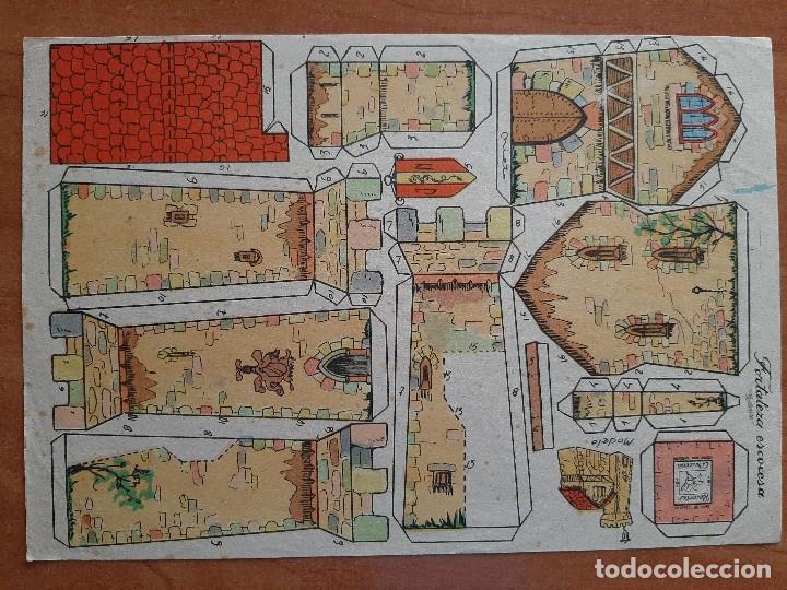 AZUCENA RECORTABLE - FORTALEZA ESCOCESA - EDIFICIOS Nº 12 (Coleccionismo - Recortables - Construcciones)