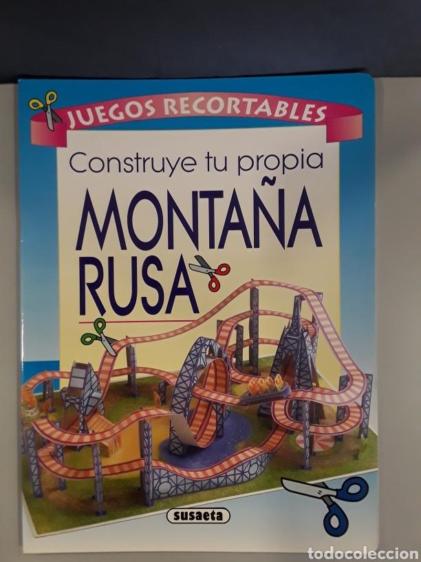 LIBRO RECORTABLE MONTAÑA RUSA EDITORIAL SUSAETA (Coleccionismo - Recortables - Construcciones)