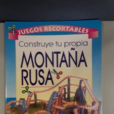 Coleccionismo Recortables: LIBRO RECORTABLE MONTAÑA RUSA EDITORIAL SUSAETA. Lote 230618250