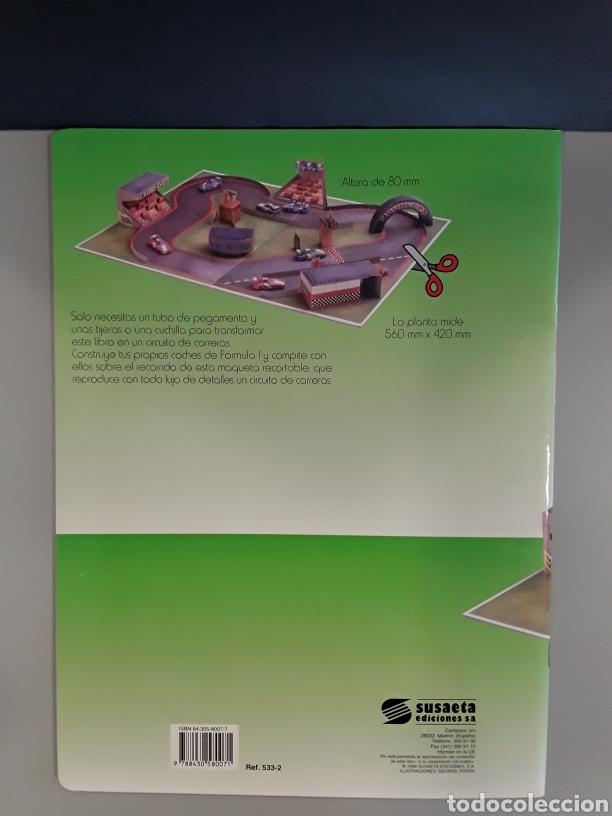 Coleccionismo Recortables: LIBRO RECORTABLE CIRCUITO DE CARRERAS EDITORIAL SUSAETA - Foto 2 - 230618360