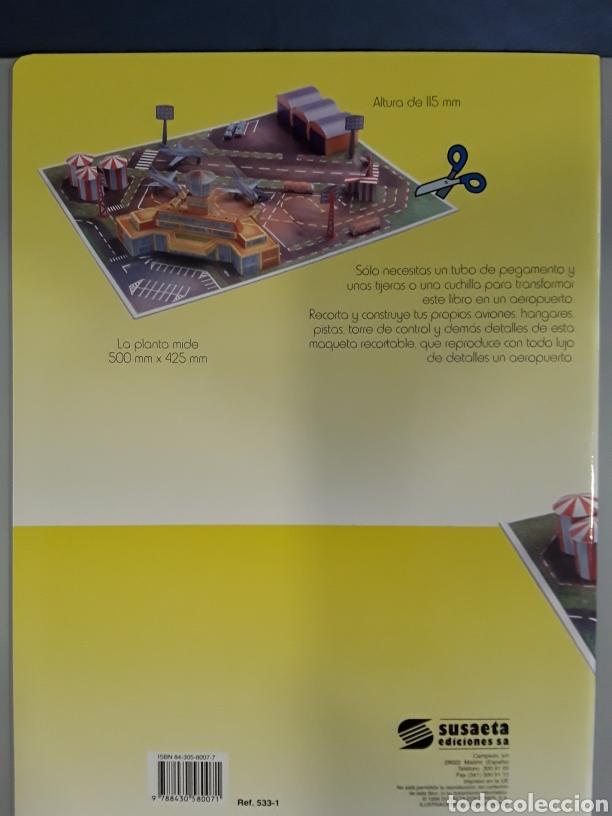 Coleccionismo Recortables: LIBRO RECORTABLE AEROPUERTO EDITORIAL SUSAETA - Foto 2 - 230618480