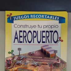 Coleccionismo Recortables: LIBRO RECORTABLE AEROPUERTO EDITORIAL SUSAETA. Lote 230618480