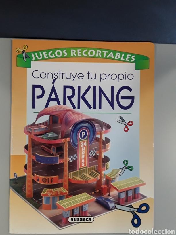 LIBRO RECORTABLE CONSTRUCCION PARKING EDITORIAL SUSAETA (Coleccionismo - Recortables - Construcciones)