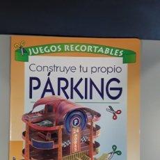 Coleccionismo Recortables: LIBRO RECORTABLE CONSTRUCCION PARKING EDITORIAL SUSAETA. Lote 230622835