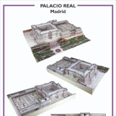 Colecionismo Recortáveis: MAQUETA RECORTABLE DEL PALACIO REAL DE MADRID. Lote 284594288