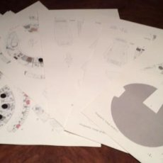 Coleccionismo Recortables: LA MAQUETA 3D DEL HALCÓN MILENARIO DE STAR WARS. Lote 231466380