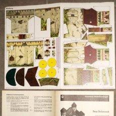 Coleccionismo Recortables: MAQUETA RECORTABLE DEL CASTILLO DE STOLZENECK ( ALEMANIA ) ESCALA H0. Lote 238112415