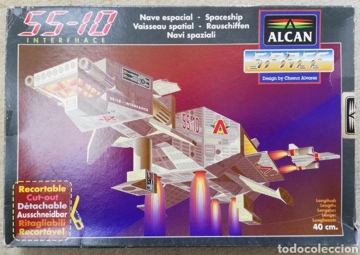 MAQUETA PAPEL RECORTABLE, ALCAN - NAVE ESPACIAL, SS - 10 INTERFHACE - PJRB (Coleccionismo - Recortables - Construcciones)