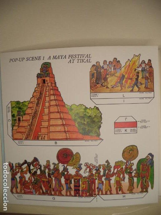 Coleccionismo Recortables: THE MAYA,AZTECS & INCAS POP PUP BRITISH MUSEUM 28 PAGINAS QUE CON LOS RECORTABLES SE HACE EL POP UP2 - Foto 3 - 241018190
