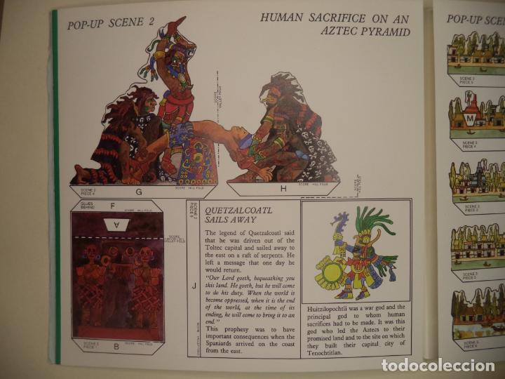 Coleccionismo Recortables: THE MAYA,AZTECS & INCAS POP PUP BRITISH MUSEUM 28 PAGINAS QUE CON LOS RECORTABLES SE HACE EL POP UP2 - Foto 4 - 241018190