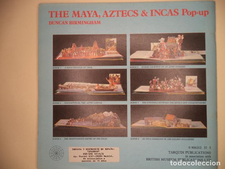 Coleccionismo Recortables: THE MAYA,AZTECS & INCAS POP PUP BRITISH MUSEUM 28 PAGINAS QUE CON LOS RECORTABLES SE HACE EL POP UP2 - Foto 5 - 241018190