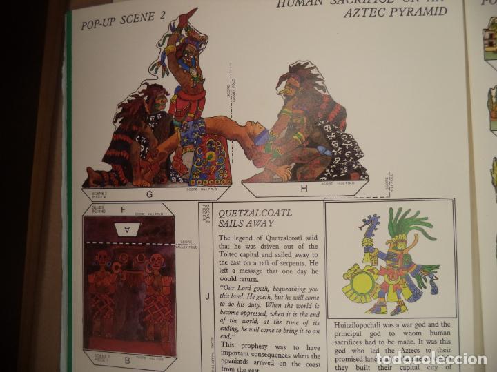 Coleccionismo Recortables: THE MAYA,AZTECS & INCAS POP PUP BRITISH MUSEUM 28 PAGINAS QUE CON LOS RECORTABLES SE HACE EL POP UP2 - Foto 6 - 241018190