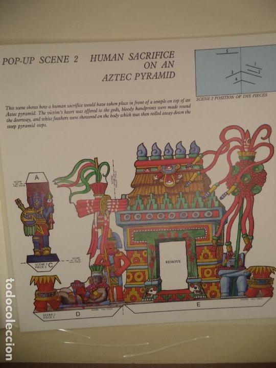 Coleccionismo Recortables: THE MAYA,AZTECS & INCAS POP PUP BRITISH MUSEUM 28 PAGINAS QUE CON LOS RECORTABLES SE HACE EL POP UP2 - Foto 7 - 241018190