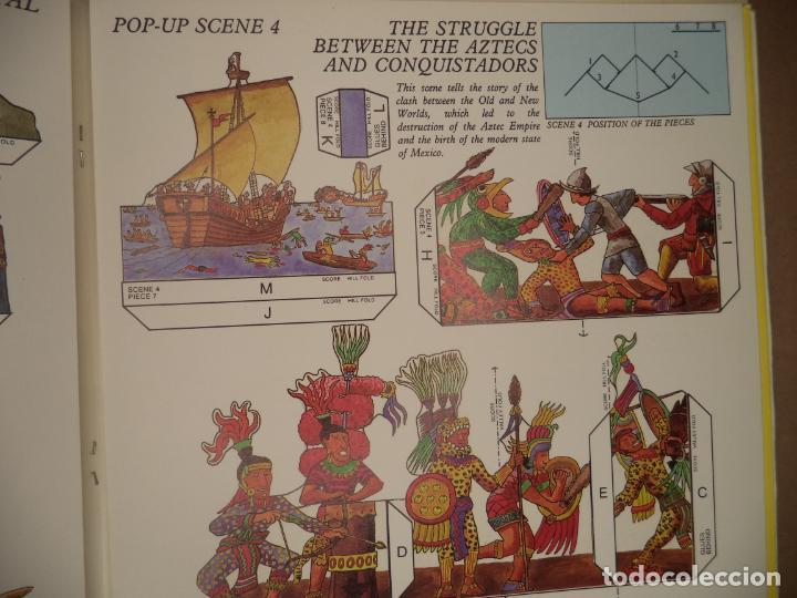 Coleccionismo Recortables: THE MAYA,AZTECS & INCAS POP PUP BRITISH MUSEUM 28 PAGINAS QUE CON LOS RECORTABLES SE HACE EL POP UP2 - Foto 8 - 241018190