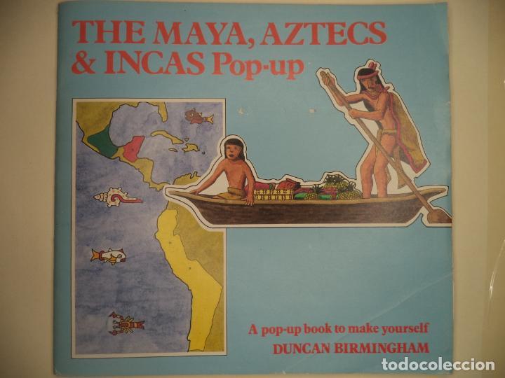 THE MAYA,AZTECS & INCAS POP PUP BRITISH MUSEUM 28 PAGINAS QUE CON LOS RECORTABLES SE HACE EL POP UP2 (Coleccionismo - Recortables - Construcciones)