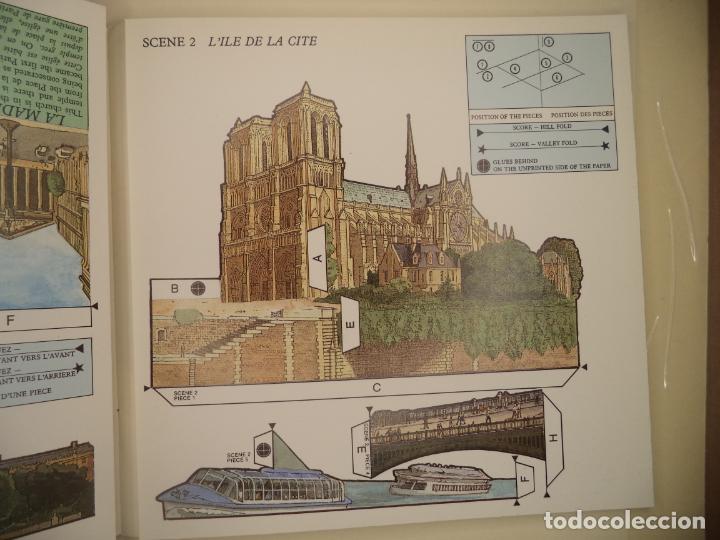 Coleccionismo Recortables: POP UP PARIS 28 PAGINAS QUE RECORTANDO PERMITEN HACER EL POP UP PERFECTO ESTADO BRITISH MUSEUM - Foto 4 - 241019175
