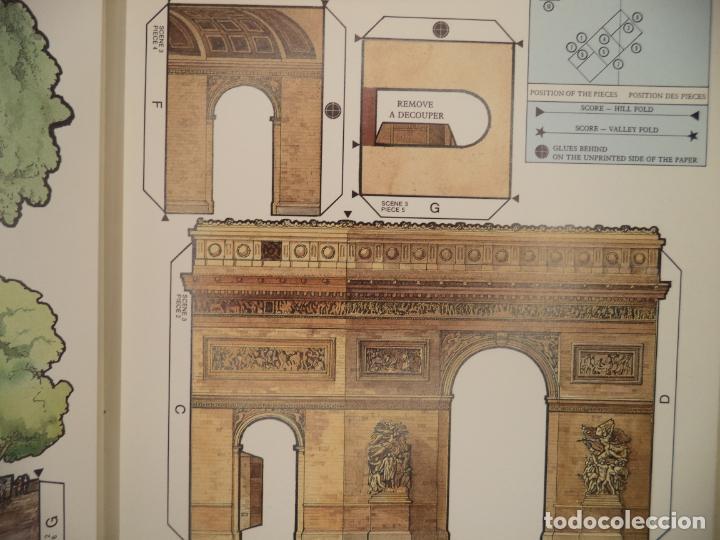 Coleccionismo Recortables: POP UP PARIS 28 PAGINAS QUE RECORTANDO PERMITEN HACER EL POP UP PERFECTO ESTADO BRITISH MUSEUM - Foto 6 - 241019175