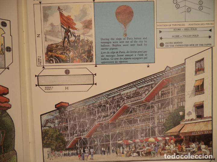 Coleccionismo Recortables: POP UP PARIS 28 PAGINAS QUE RECORTANDO PERMITEN HACER EL POP UP PERFECTO ESTADO BRITISH MUSEUM - Foto 7 - 241019175