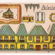 Coleccionismo Recortables: RECORTABLES CONSTRUCCIONES - ANARANT - PALACIO - PERFECTO ESTADO. Lote 246981680