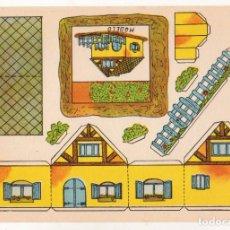 Coleccionismo Recortables: RECORTABLES CONSTRUCCIONES - VILLA CRUZ - ANARANT - PERFECTO ESTADO. Lote 246985880
