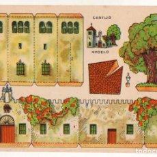 Coleccionismo Recortables: RECORTABLES CONSTRUCCIONES - CORTIJO - MUY BUEN ESTADO. Lote 246988050