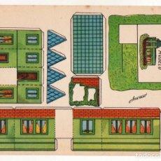 Coleccionismo Recortables: RECORTABLES CONSTRUCCIONES - ANARANT - VILLA ENCARNITA - MUY BUEN ESTADO. Lote 246990205