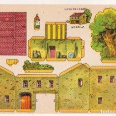 Coleccionismo Recortables: RECORTABLES CONSTRUCCIONES - CASA DE LABOR - PERFECTO ESTADO. Lote 246990805