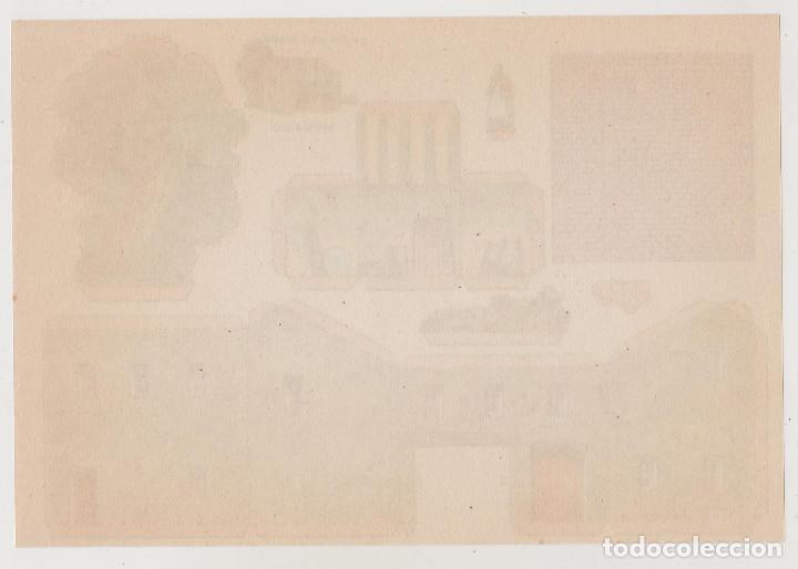 Coleccionismo Recortables: RECORTABLES CONSTRUCCIONES - CASA DE LABOR - PERFECTO ESTADO - Foto 2 - 246990805