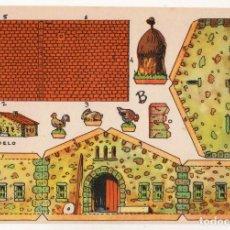 Coleccionismo Recortables: RECORTABLES CONSTRUCCIONES - MASÍA - PERFECTO ESTADO. Lote 246992220