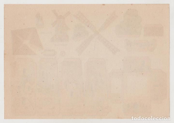 Coleccionismo Recortables: RECORTABLES CONSTRUCCIONES - MOLINO - PERFECTO ESTADO - Foto 2 - 246995100