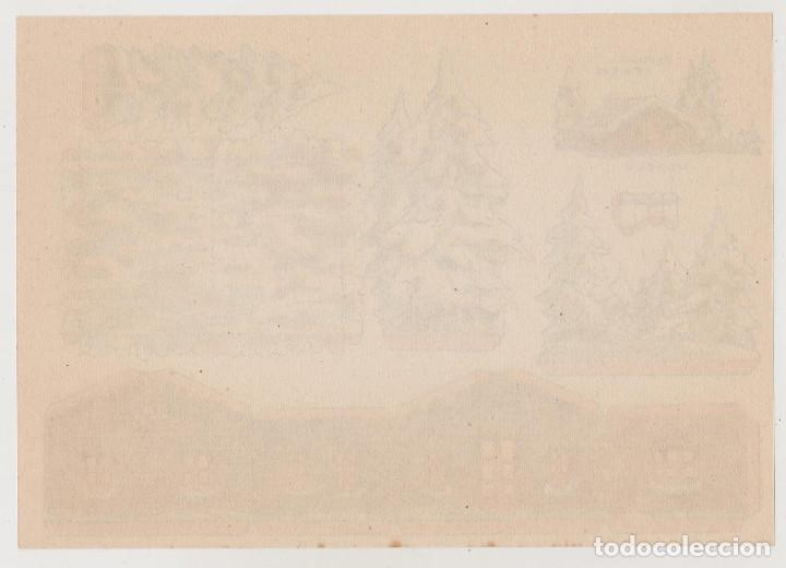Coleccionismo Recortables: RECORTABLES CONSTRUCCIONES - REFUGIO DE NIEVE - PERFECTO ESTADO - Foto 2 - 246996895