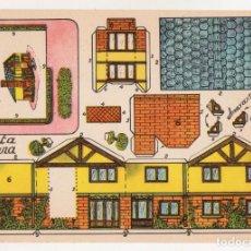 Coleccionismo Recortables: RECORTABLES CONSTRUCCIONES - CASITA ALEMANA - ANARANT - PERFECTO ESTADO. Lote 247228420