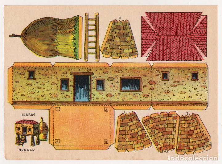 RECORTABLES CONSTRUCCIONES - HÓRREO - MUY BUEN ESTADO (Coleccionismo - Recortables - Construcciones)
