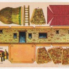 Coleccionismo Recortables: RECORTABLES CONSTRUCCIONES - HÓRREO - MUY BUEN ESTADO. Lote 247228880