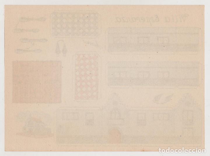 Coleccionismo Recortables: RECORTABLES CONSTRUCCIONES - VILLA ESPERANZA - PERFECTO ESTADO - Foto 2 - 247229250