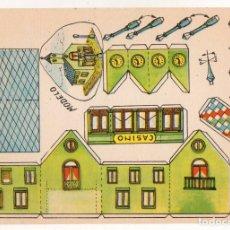 Coleccionismo Recortables: RECORTABLES CONSTRUCCIONES - CASINO - PERFECTO ESTADO. Lote 247230980