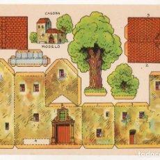 Coleccionismo Recortables: RECORTABLES CONSTRUCCIONES - CASONA - PERFECTO ESTADO. Lote 247232135