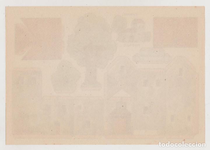 Coleccionismo Recortables: RECORTABLES CONSTRUCCIONES - CASONA - PERFECTO ESTADO - Foto 2 - 247232135