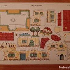 Collectionnisme Images à Découper: RECORTABLE LA TIJERA : CHALET FIN DE SEMANA - SERIE IMPERIO Nº 15. Lote 274665803