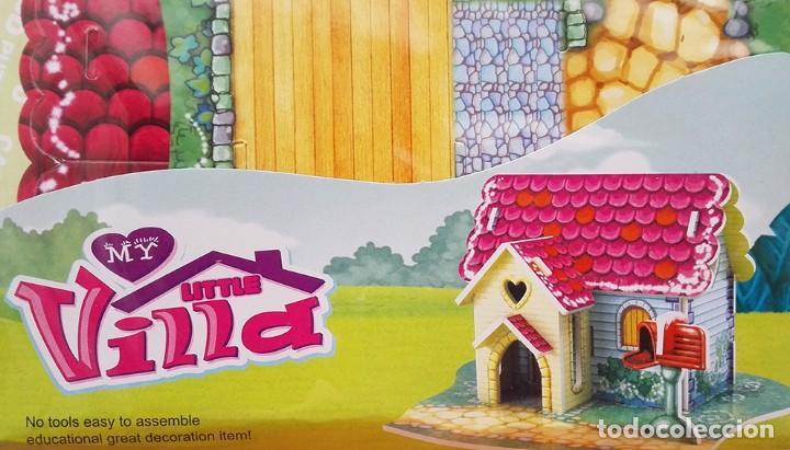 Coleccionismo Recortables: Maqueta casa My little villa cartón recortable construcciones Ousdy No2611KB - Foto 3 - 251192465