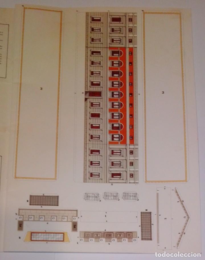 Coleccionismo Recortables: Antiguo recortable del Congreso de los Diputados. Año 1983. - Foto 3 - 253215435