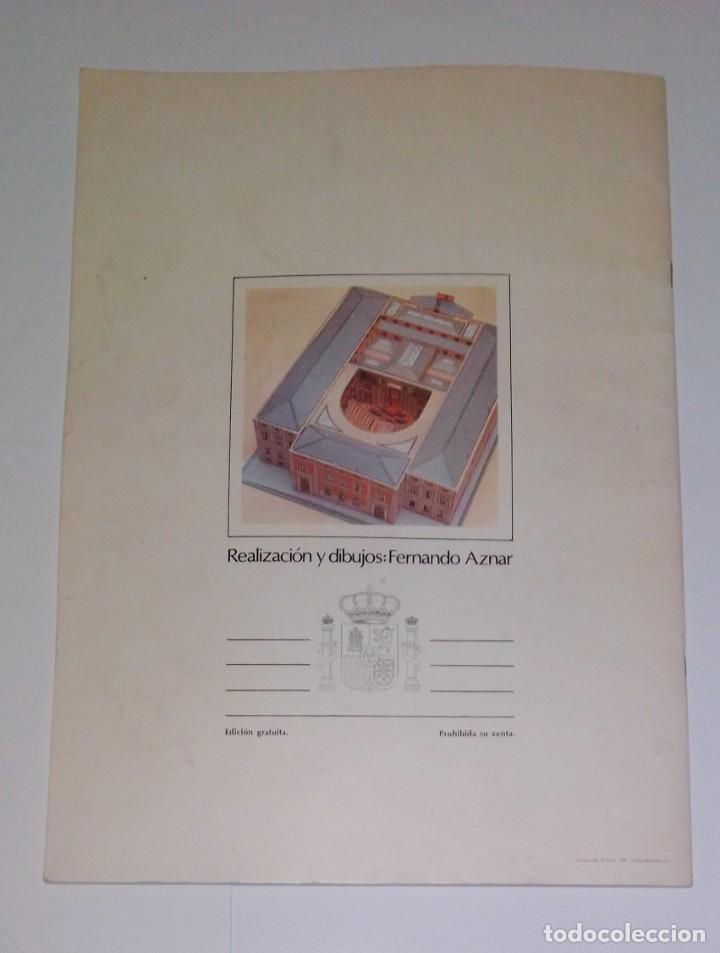 Coleccionismo Recortables: Antiguo recortable del Congreso de los Diputados. Año 1983. - Foto 12 - 253215435