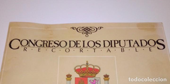 Coleccionismo Recortables: Antiguo recortable del Congreso de los Diputados. Año 1983. - Foto 13 - 253215435